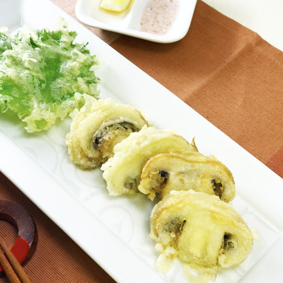 マッシュルームの天ぷら