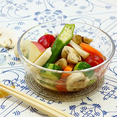 マッシュと野菜の水キムチ